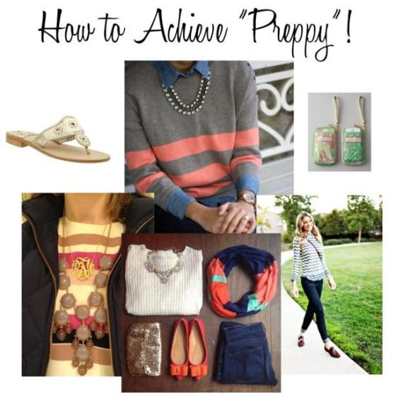 How to Achieve Preppy!