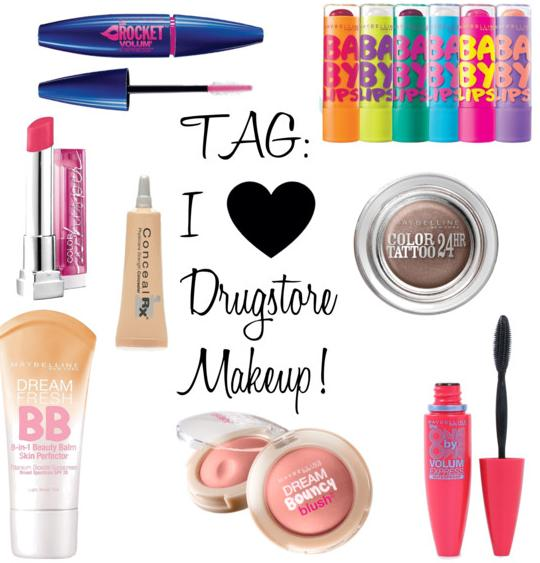 TAG I Love Drugstore Makeup