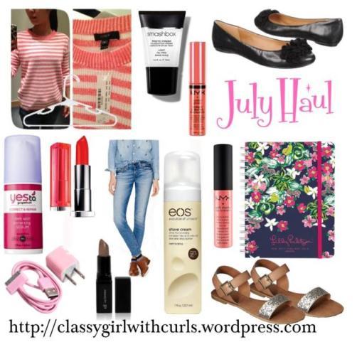 July Haul