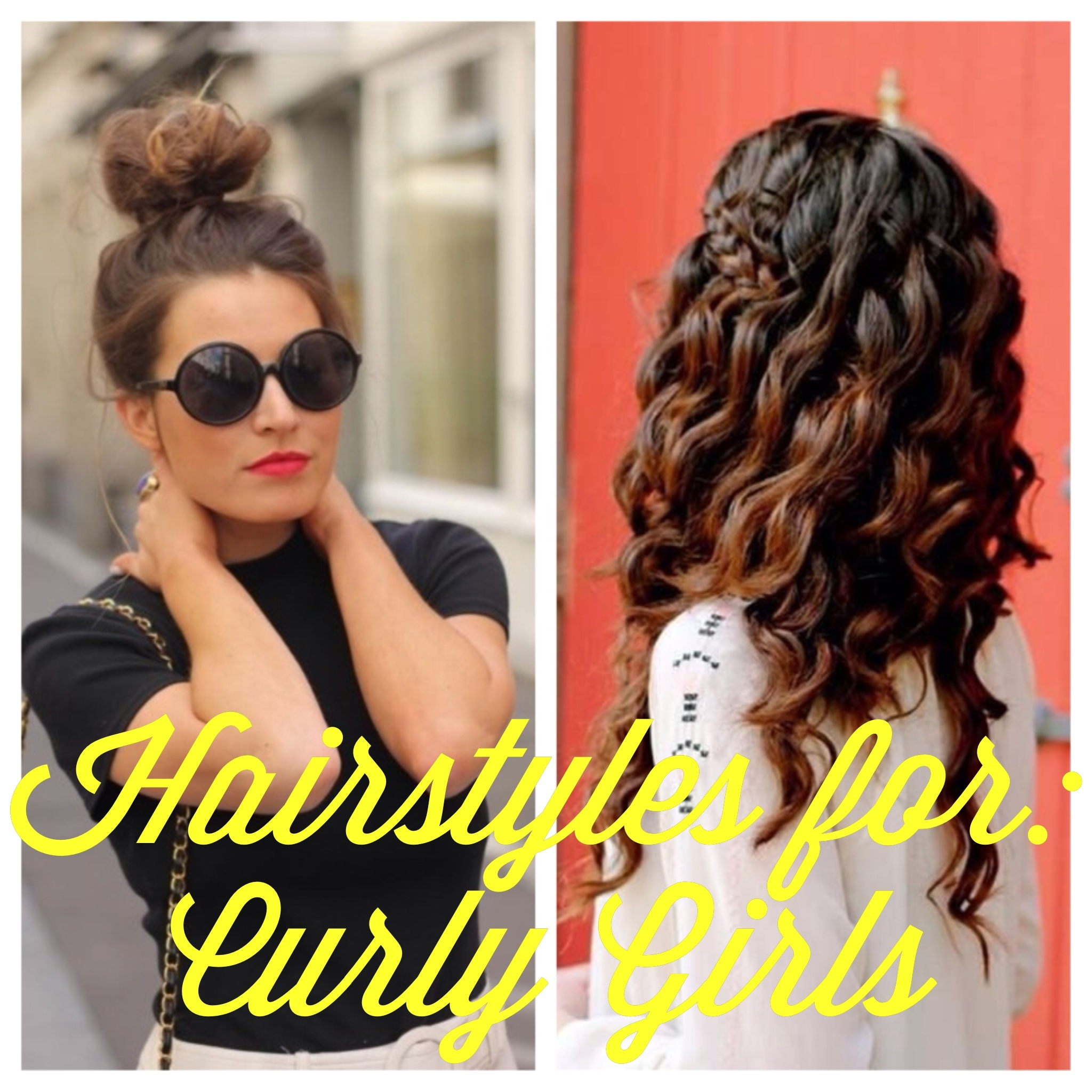 Blogust Day 28 Hairstyles For Curly Girls Classy Girl With Curls
