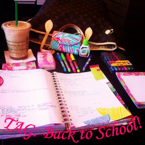 TAG Back to School