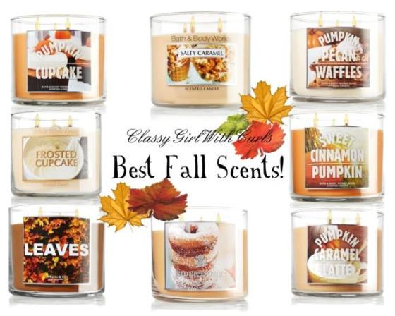 Best Fall Scents