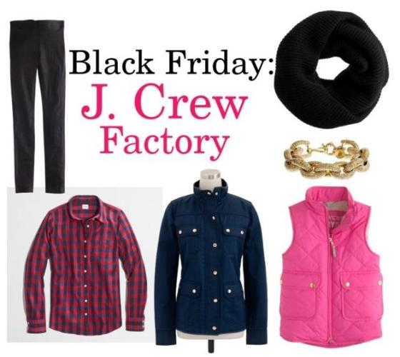 Black Friday J Crew Factory