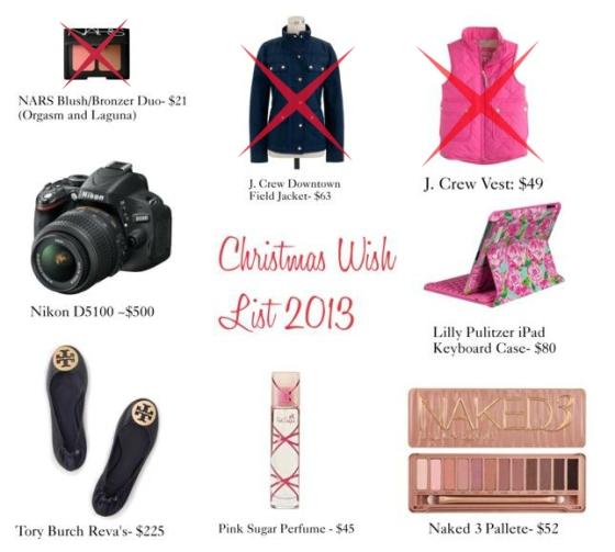 ChristmasList2013