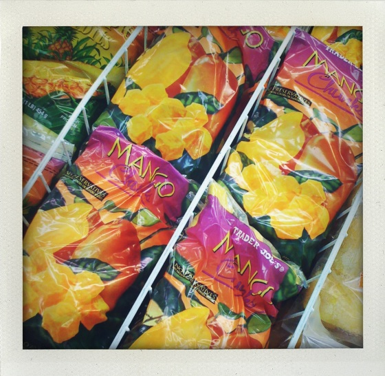 Trader Joes Frozen Mango Chunks