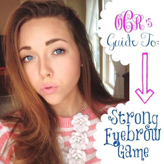 OCR's Guide to Strong Eyebrow Game