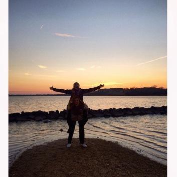 Nothing beats a SMCM sunset