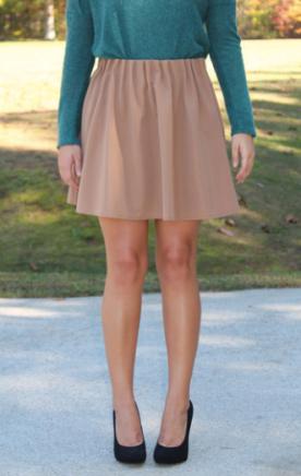 Getting Caught Up Skirt (Mocha)