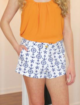 MACBETH: Anchors Aweigh Shorts