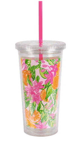 LILLY PULITZER: Tumbler Peelin' Out
