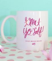 ASHLEY BROOKE: Treat Yo' Self Mug
