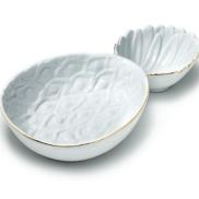 Porcelain Pineapple Serving Bowl ($30)