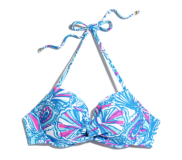 Push Up Halter Bikini Top: My Fans *Online Only* ($24)