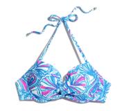 Push Up Halter Bikini Top: My Fans *Online Only* ($24)