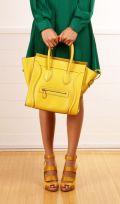 Yellow Celine Bag