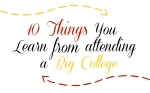10 Things You Learn from attending a small college