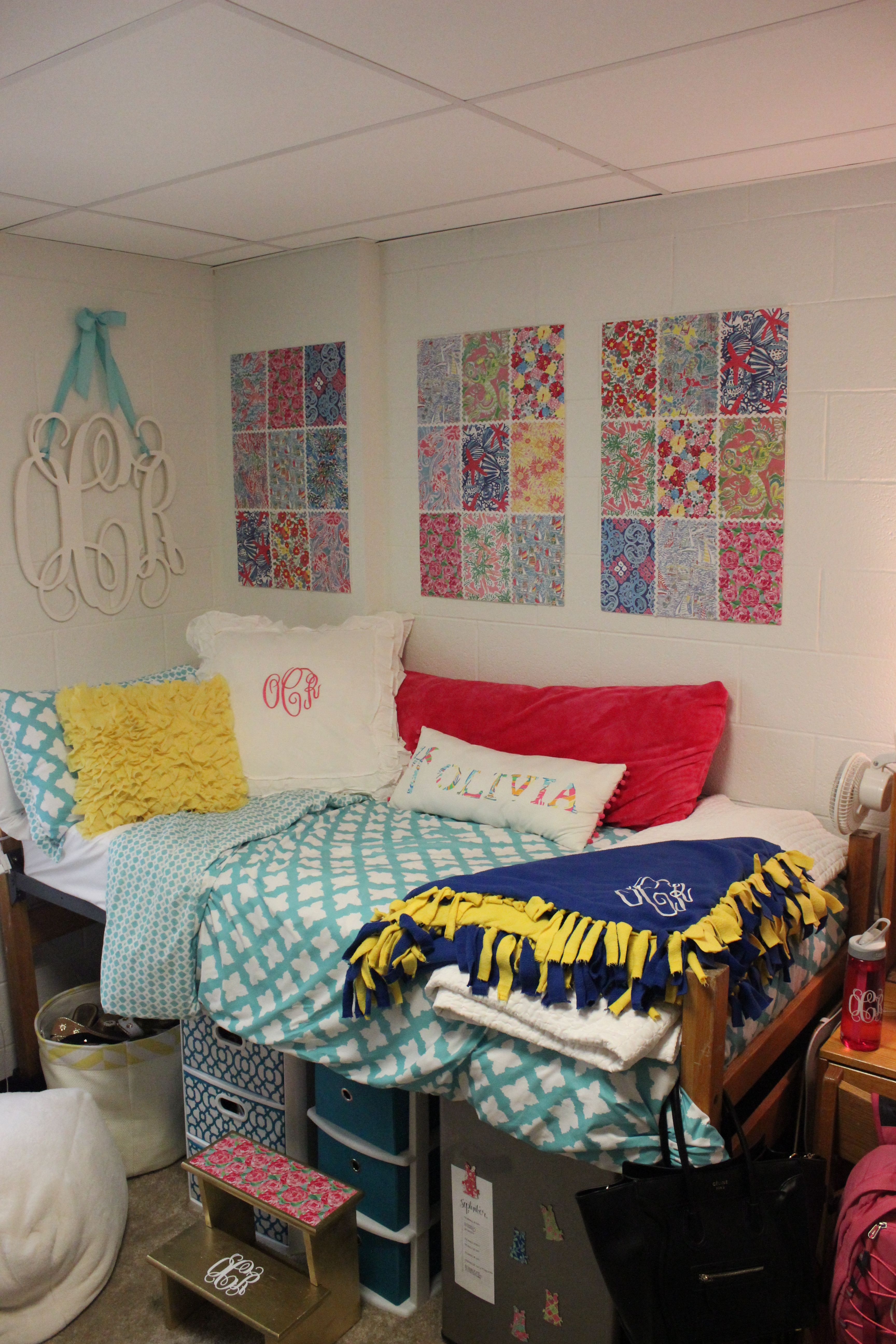 College Dorm Room Tour Classy Girl With Curls